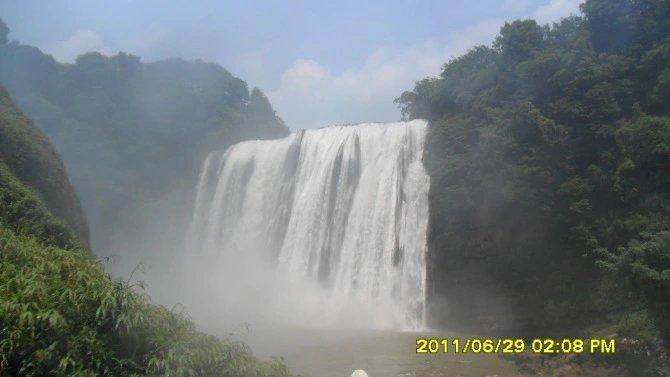 记忆:2011年黄果树瀑布一日游